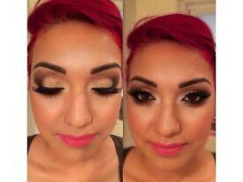 Bridal Party Hair & Makeup Artist - Arabic Makeup - English - Turkish - Indian wedding -