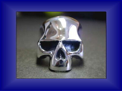 Skull Ring Sterling Silver 925 Rare Boon Jewelry Men
