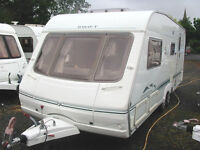 SPACIOUS & LUXURIOUS TWIN AXLE TOURER WITH END WASHROOM