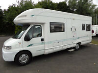 SPACIOUS FIXED BED MOTORHOME