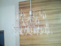 Cosmos Crystal Chandelier Fixture - Like new/open box