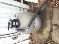 Hayward Pro Series High Rate Sand Filter