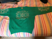 Vintage Jumper, bought in Istanbul, medium-large size