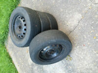 Goodyear Summer Tires with Rims