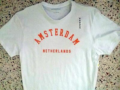 New - AMSTERDAM NETHERLANDS - Print T-Shirt - XL