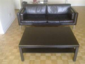 Ikea Leather Couch for Sale!