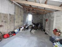 Secure motorcycle garage - 2 spaces for rent