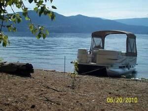 6 passenger Pontoon Boat