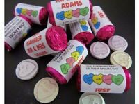 Personalised Lovehearts - Wedding Favours