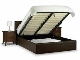 *7-DAY MONEY BACK GUARANTEE!* Double Ottoman Leather Storage Bed and Mattress Options- SAME DAY!