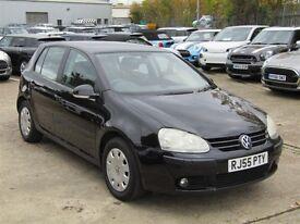Volkswagen , golf , 1400cc , 5 door , petrol , manual , 55 plate , black ,