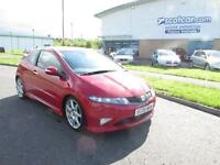 HONDA CIVIC 2.0 I-VTEC TYPE-R GT 3D 198 BHP FREE 12 MONTH WARRANTY