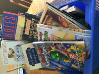 A Bucket of 50+ NEW Books