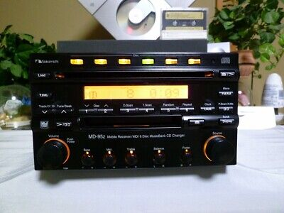 Used, Nakamichi MD-95z Mobile Receiver/MD/6Disc MusicBank CD Changer Sound System  for sale  Shipping to Canada
