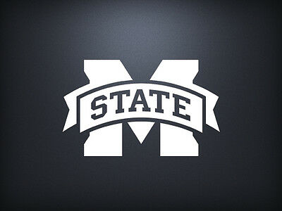 Mississippi State Bulldogs Decal Sticker Window - Mississippi State Bulldog