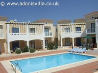 Holiday home with swimming pool to rent in Cyprus Pafos Summer let