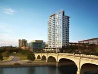 One Month Free! 1 bedroom+den at Lansdowne, with Canal views!
