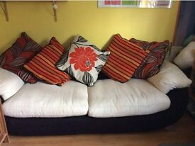 Large Bright Sofa