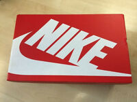 Nike 'Roshe One' black fabric trainers adult size 8