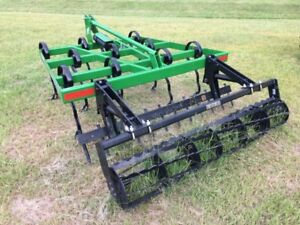 New 2018 Unverferth Perfecta Cultivator with spike & harrow