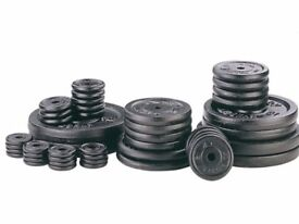 Weight Plates Cast Iron Standard 1inch Fitting Weight Plates: NEW