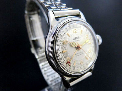 ORIS Automatic 574 SA 7464 Watch Pointer Date Big Crown [704]