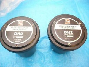 ElectroVoice DH2 Horn Drivers & HP940 Horns - Pair - Like New