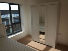Nice double room + bathroom in a 2 bedroom flat
