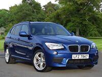 BMW X1 xDrive 18d M Sport 5dr (blue) 2012