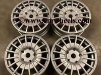 "18 20"" Inch OZ M-Sport MSRT Alloy wheels Ford Transit Custom Van centre bore 65.1 5x120 silver"