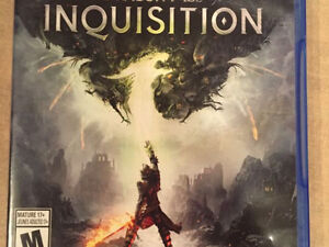 Dragon Age Inquisition for PS4.