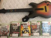 Guitar Hero Wireless Guitar Xbox 360