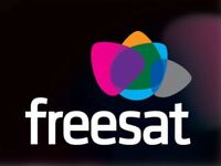 Freesat installation (dish included)