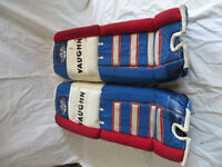Jambière de gardien de but hockey Vaughn hockey goalie pads