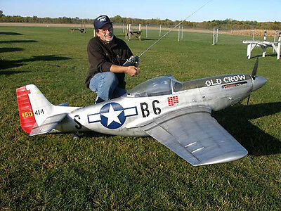 """1/4 Scale P51 Mustang  101""""  Giant Scale RC AIrplane Printed Plans & Templates   for sale  Jacksonville"""