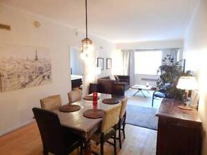 FURNISHED ALL INCLUSIVE 2-BEDROOM 2-BATHROOM CONDO IN DOWNTOWN