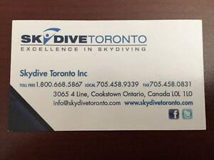 Solo First Jump Course - Skydive Toronto Kitchener / Waterloo Kitchener Area image 4