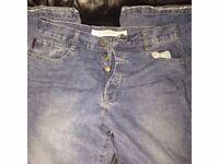 Men's Used HAMNETT jeans light stonewashed W32 x L 32 DESIGINER JEANS FOR ONLY £20.00