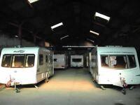 Car caravan motorhome boat storage