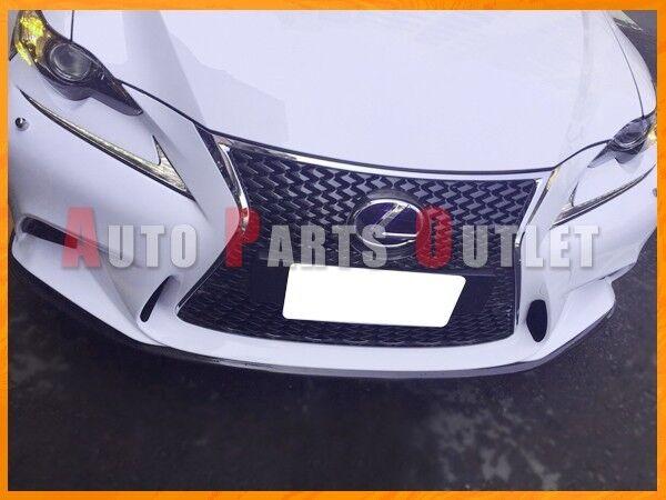 Carbon Fiber Front Bumper Lip For 14-15 LEXUS IS250 IS300h IS350 Sedan F-Sport