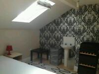 Furnished loft room near city center friendly shared house