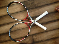 USED 2 Babolat Aero Storm Tennis Racquets, great shape.