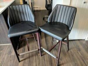 Stylish Bar Chairs ($160 for the pair - Negotiable)