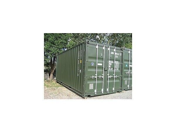 Bluewater Self Storage – Container storage for only