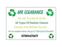 Mr Clearance Rubbish clearance / Rubbish services