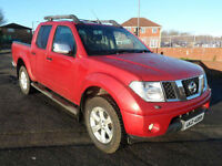 2007 Nissan Navara 2.5dCi Double Cab Pickup Outlaw