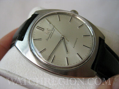 RARE IWC AUTOMATIC WATCH PATENTED PELLATON WINDING SYSTEM 35MM CASE SERVICED!!