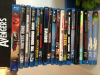 Blu-Rays and DVDs, Movies & TV Shows