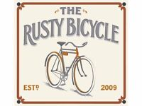 Full time bar staff required at The Rusty Bicycle
