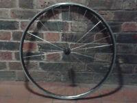 700c narrow road bike race front wheel Alex DA22 quick-release good condition